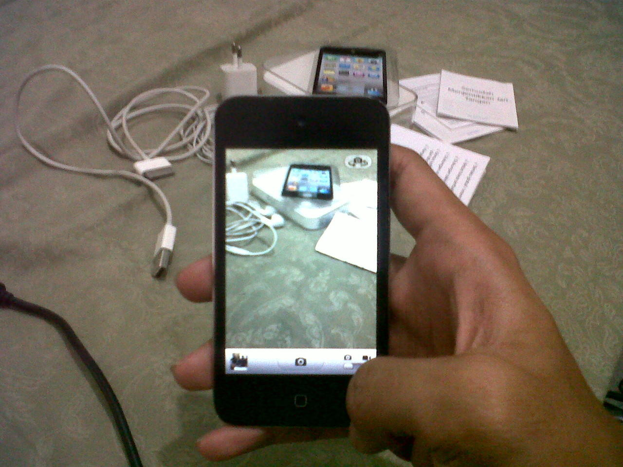apple ipod touch gen 4 8gb murmer fullset surabaya