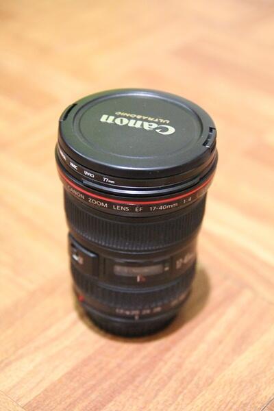 Canon EF 17-40mm F;4 USM