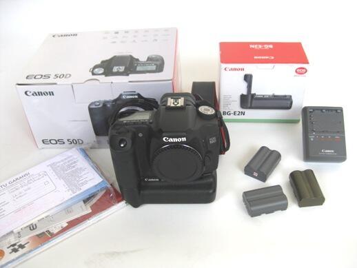 Sale Canon 50D + BG Ori kondisi like new