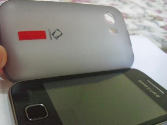 Samsung Galaxy Y Young CDMA I509 Black Mulus Komplit (975rb)