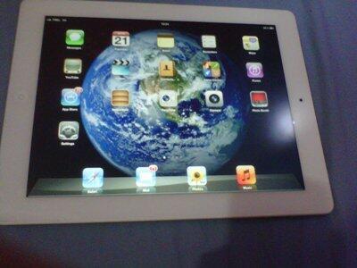 WTS New Ipad 32GB cell+wifi garans indonesia panjanggg
