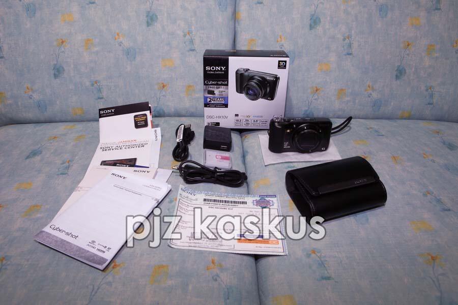 Jual SONY Cyber-shot DSC-HX10V Black MINT Like New (bandung)