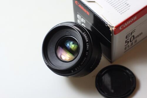 DIJUAL LENSA CANON EF 50mm F1.8