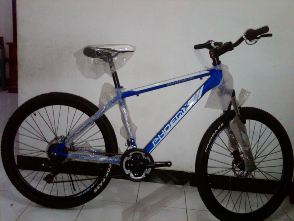 Terjual sepeda MTB PHOENIX new cakram KASKUS