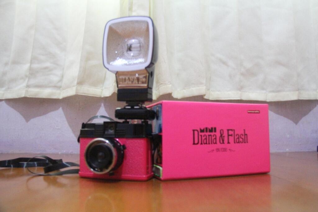 Kamera Lomo Diana Mini En Rose