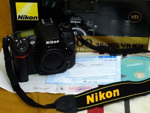 Nikon D7000 BO Garansi s.d April 2013
