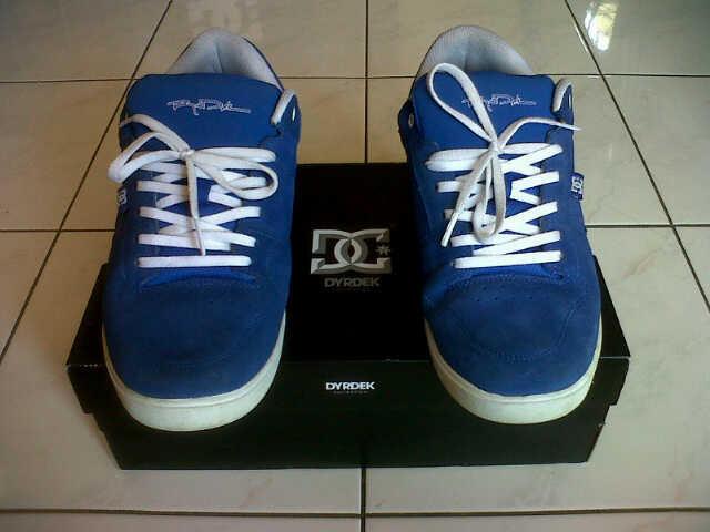 WTS DC Shoes Royal Low sz 44,5 lengkap box Surabaya