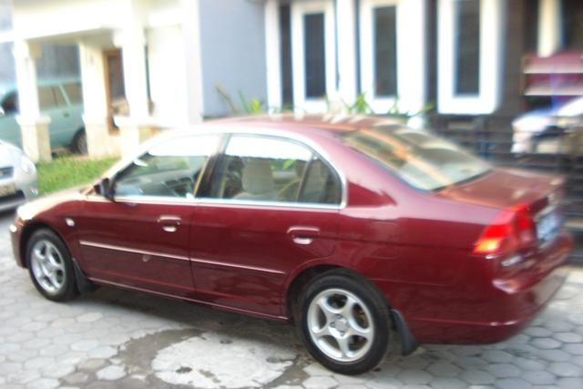 Jual Honda New Civic 2003 AB Asli Fullvar+Audio