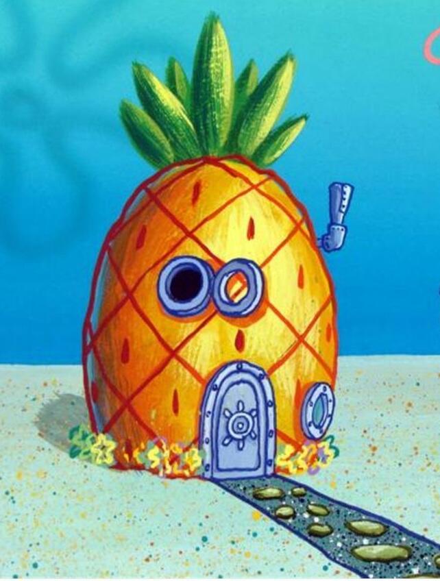 550 Gambar Rumah Spongebob Bikini Bottom HD