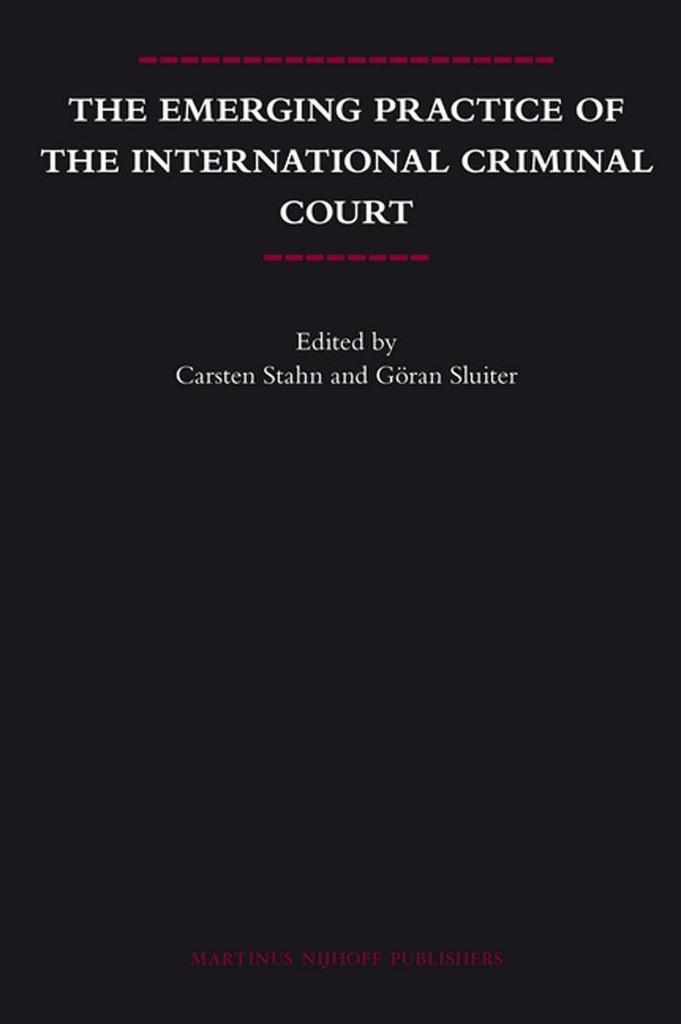 jUAL buku HUKUM PIDANA INTERNASIONAL / INTERNATIONAL CRIMINAL LAW