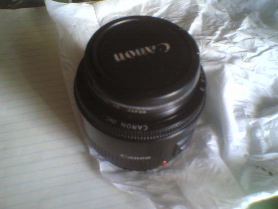 jual Canon EF 50mm f 1.8 II