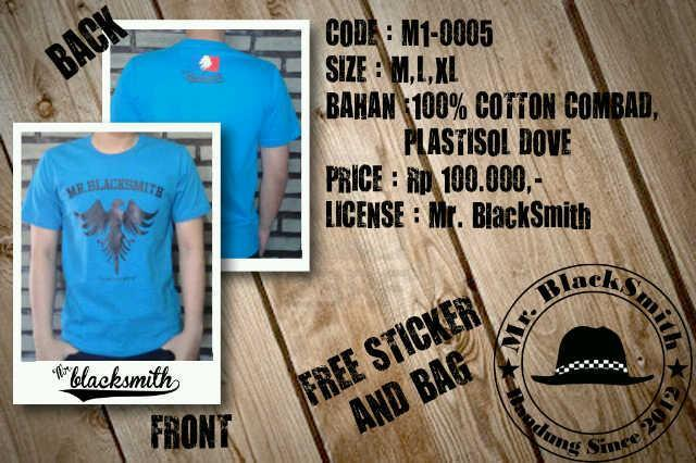 T-Shirt Mr.BlackSmith clothing from Bandung