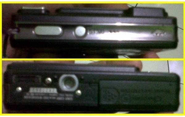 Kamera SONY CyberShot DSC-W120, Warna Hitam (BLACK)