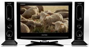 LCD TV 24 inch polytron CINEMAX