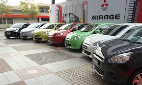 MITSUBISHI MIRAGE..DP MURAH..READY STOCK..