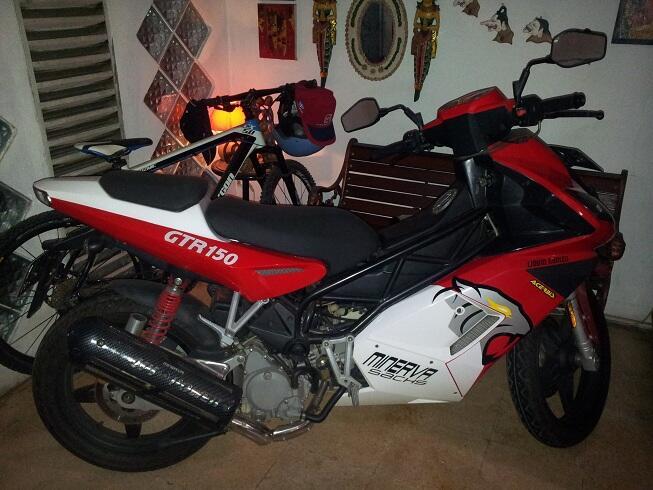 <b> JUAL MINERVA 150 GTR BARU!!!! </b>