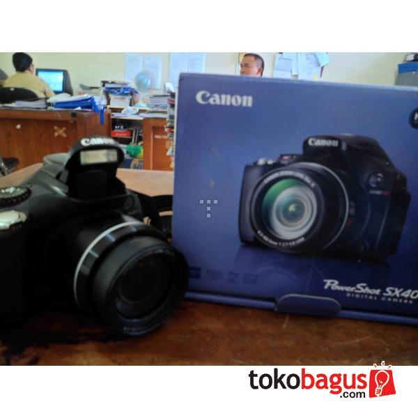 Ngejual Canon PowerShoot SX40 HS Jogja