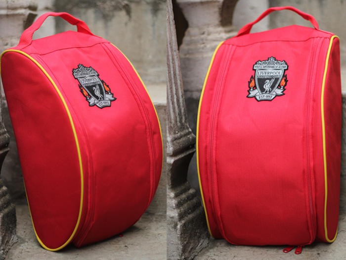 [Ekonomis Dramatis] Tas Futsal All Club Patch Woven logo
