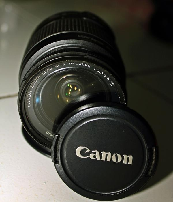 canon 18-55 made in japan murah abiss( BEKASI)