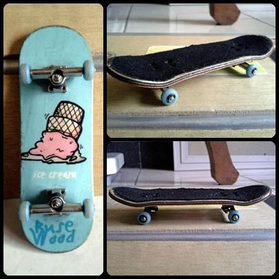 Fingerboard Fullset Rusewood & Deck Planktoon