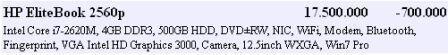 HP ELITEBOOK 2560P i7-2620M AS NEW MURAH MERIAH..BARGAIN PRICE