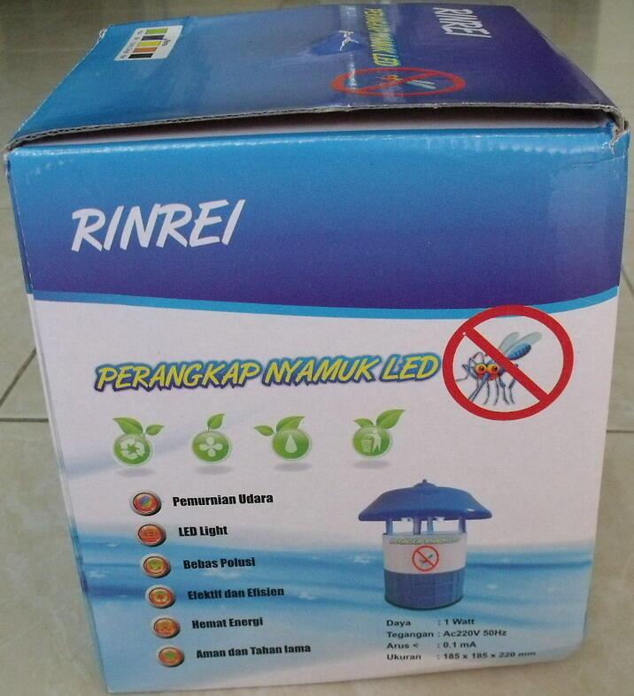 """PERANGKAP NYAMUK """"RINREI"""". Rumah bebas nyamuk,aman,murah !"""