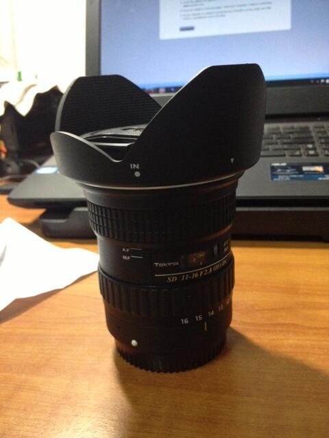 WTS Tokina 11-16 f/2.8 for Canon bandung