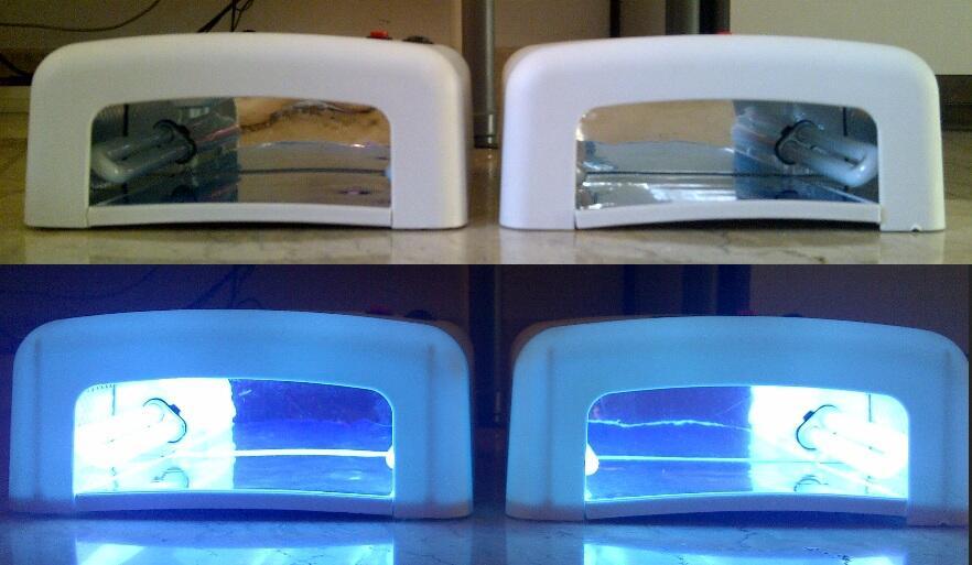 pengering kutek lampu UV / Nail Dryer UV lamp 36 watt