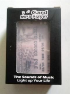 mp3 player 4 GB langka bentuk unik, cocok buat kado