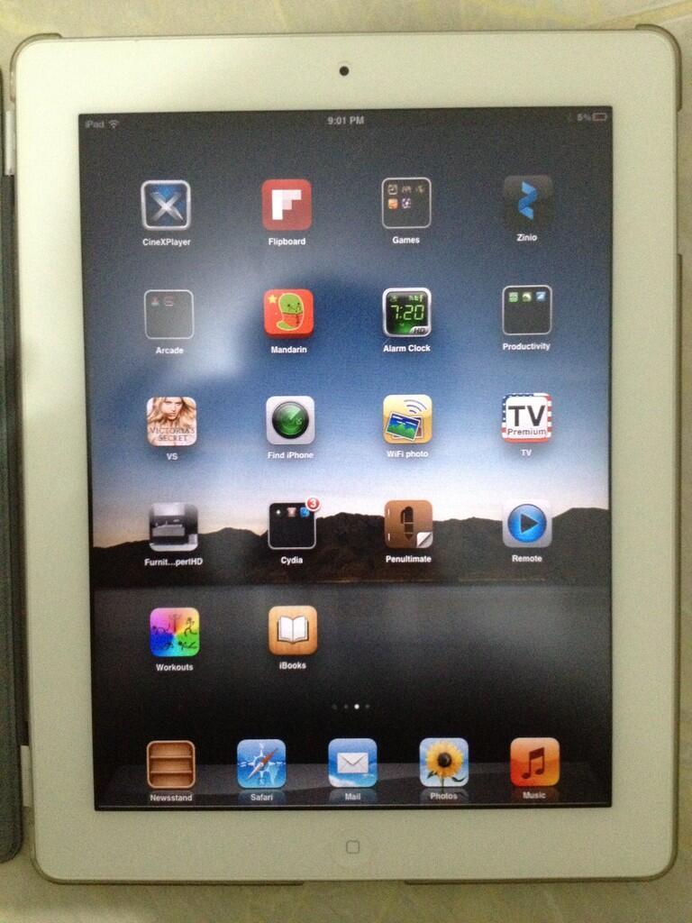 Jual IPAD 2 White 16 GB Wifi