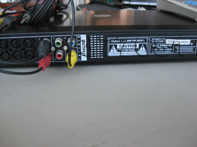DVD PLAYER NANOTEC NT-723 murah