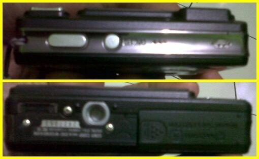 Kamera SONY CyberShot DSC-W120 Hitam Simpanan