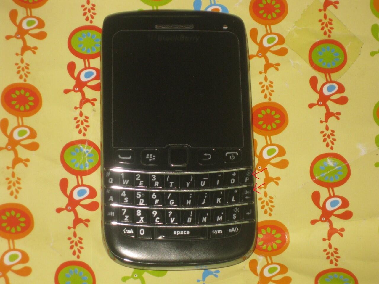 BLACKBERRY ONYX 3 9790 aka BELAGIO (jogja)