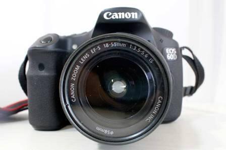 [JUAL] CANON EOS 60D Kit 18-55mm f/3.5-5.6 IS II IS II + Canon 18-200 f/3.5-5.6 IS