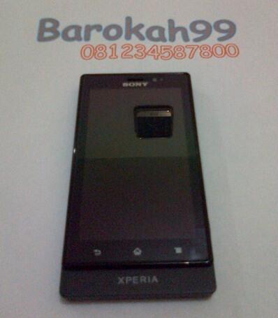 Sony Experia Sola MT27i Black Dual Core,1Bln Pakai, Mulus Mantap - Malang - Rekber Ok