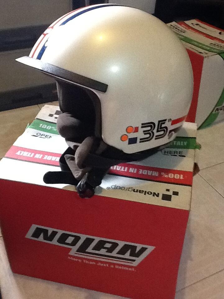 Dijual helm nolan n20 anniversary 35th