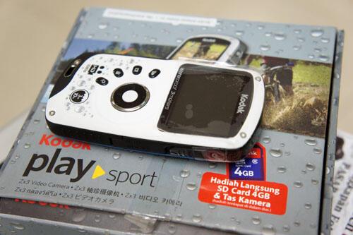 [KLIKcamera]Kamera Video HD Kodak PlaySport ZX3 Like New komplitttt