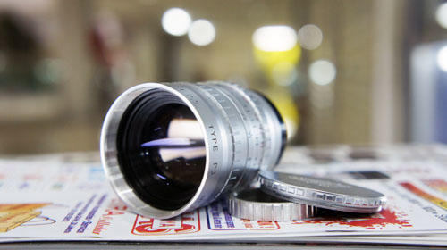 [KLIKcamera]LENSA ANGENIEUX 75mm 2.5 C mount