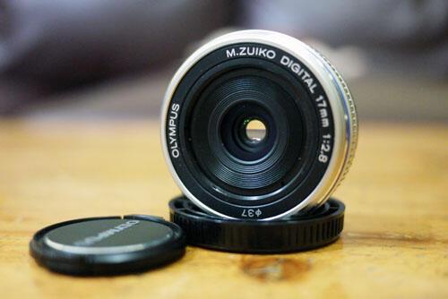 [KLIKcamera]Lensa M.Zuiko 17mm f/2.8 Pancake