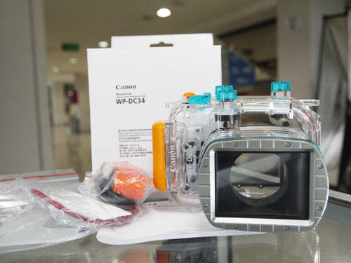 [KLIKcamera]Casing Canon Underwater WP-DC34 For G11/G12 New!!!1