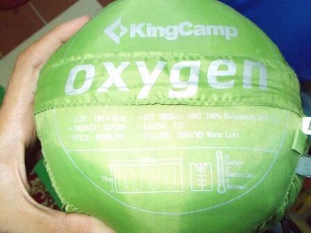 SLEEPING BAG 'KING CAMP'