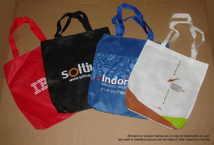 NON WOVEN BAG - SPUNBOND BAG - GOODIE BAG - TAS PROMOSI (Menerima Pesanan)