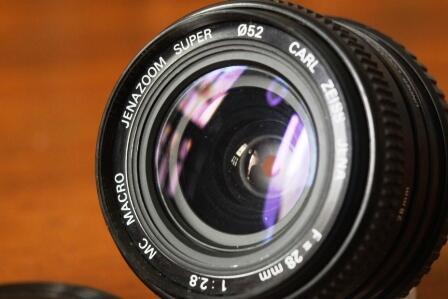 Lensa Carlzeiss Jenna 28mm f2.8. LANGKA gan