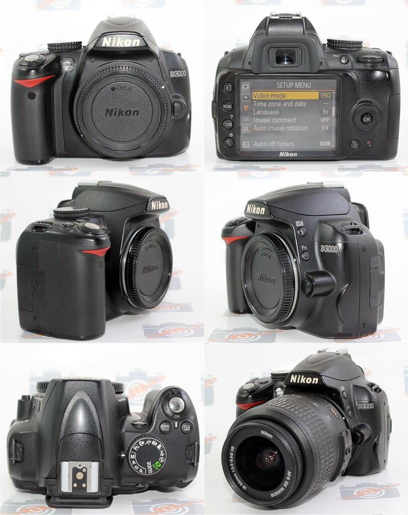 [Icamera]Nikon D3000+LENSA 18-55 VR GARANSI ALTA MARET 2013