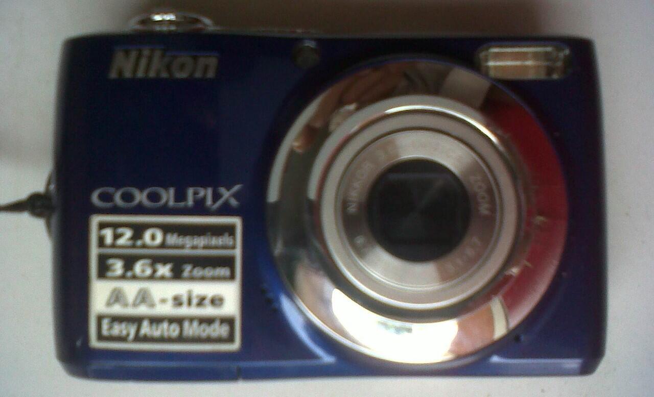 Kamera Nikon Seri CoolPIX L22 Kesayangan, Bagus & Mulus