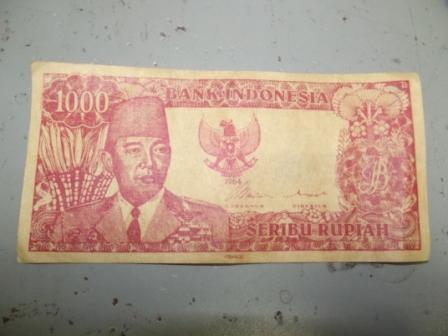 WTS. uang lama RP 1000 thun64