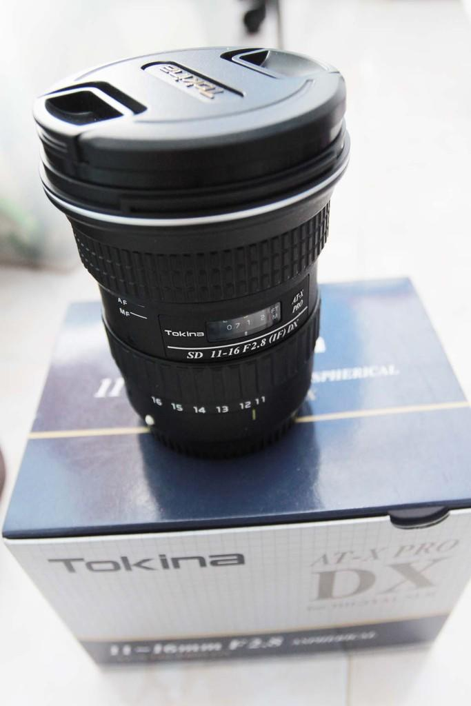 WTS Tokina 11-16 / f2.8 for CANON like NEW