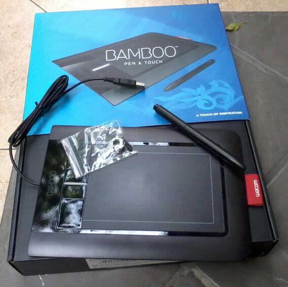 wacom bamboo pen and touch dan speaker edifier c2