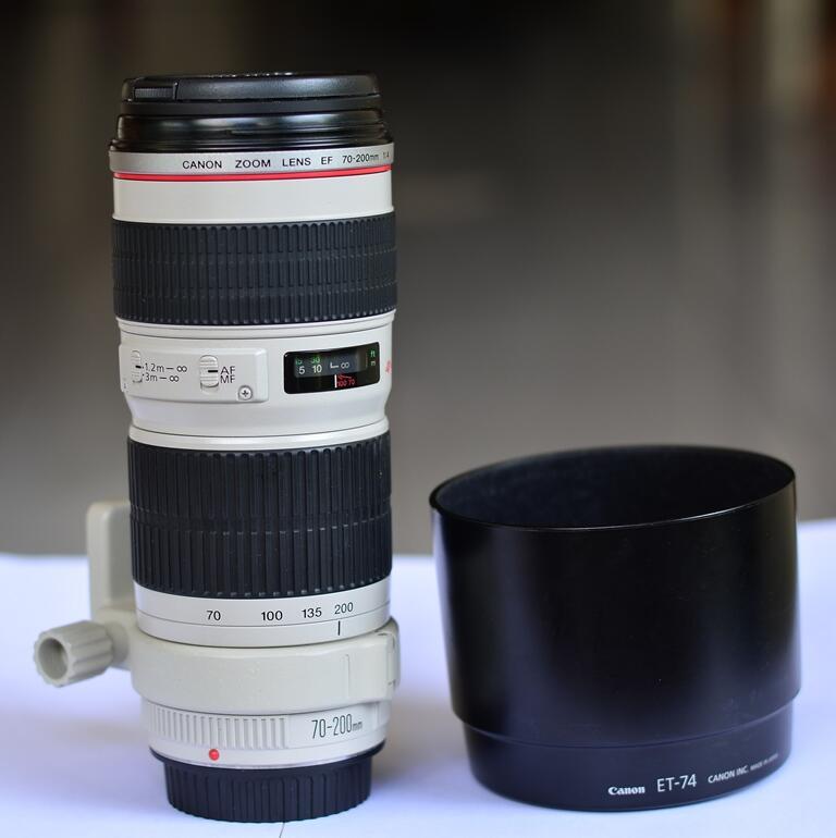 Jual Lensa Canon EF 70-200 f4 UY [Jogja,Solo,Semarang]