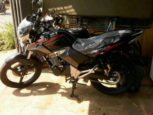 dijual Honda tiger revo CW 2012 baru